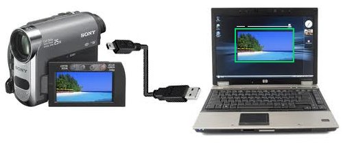 camcorder laptop USB 2.0 Vista